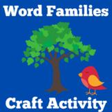 Word Families | Worksheets |  Preschool Kindergarten | Wor