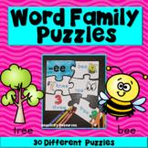 Word Families: Fun Phonics Game Rhyming Endings - Back to School Activities!