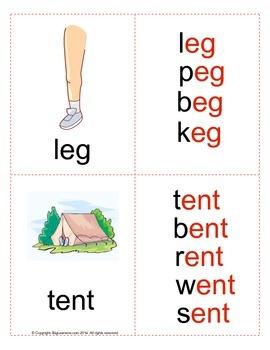 Word Families ( Set # 2 )