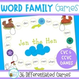 Word Family Games