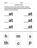 Word Families: A, E, I, O, U