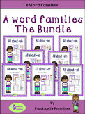 Word Families -  A - The Bundle