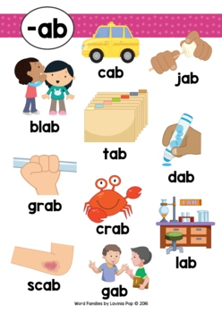 Word Families AB