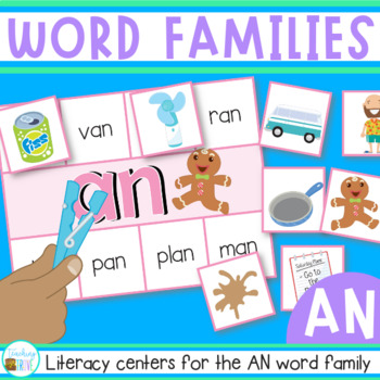 Word Families - AN