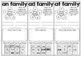 Word Families AN AD AT