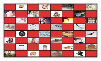 Word Families AP-AR-ASH-AT-ATE-AW-AY-EAT-EEL-EEP-EET-ELL Checkerboard Game