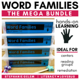 Word Families Activities MEGA BUNDLE