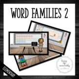 Word Families Activity for Early Readers Level 2
