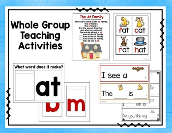 Word Families - Ag Family