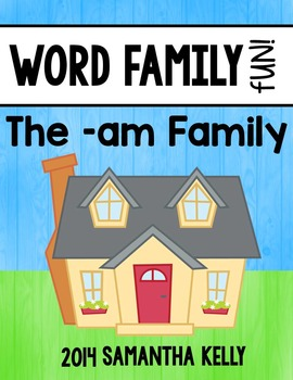 Word Families - Am family