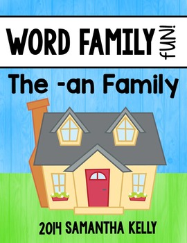 Word Families - An Family
