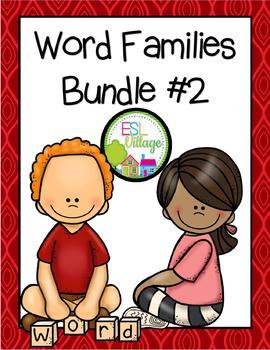 Word Families Bundle 2