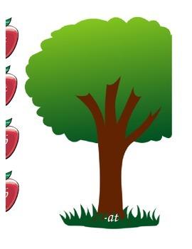 Word Families: Apple Tree Sort