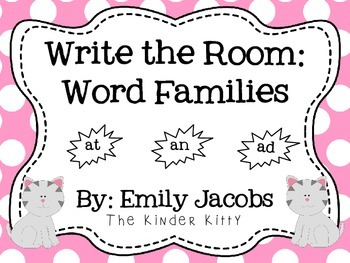 Write the Room: Word Families