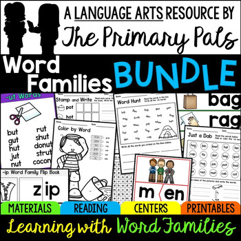 Word Families Bundle