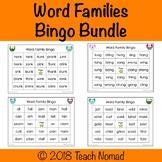 Word Families Bingo Bundle