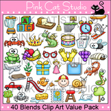 Blends Clip Art Value Pack - Word Familites