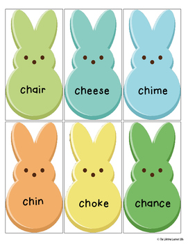 Word Families Blends Set 1