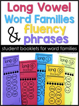 Word Families Booklets Bundle