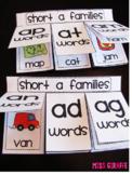Short Vowels Word Families Books Bundle
