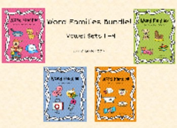 Word Families Bundle