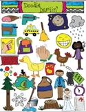 Word Families COMBO Clipart Set