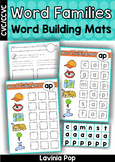 Word Family Word Building Mats (CVC and CCVC Words)