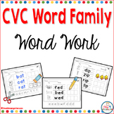 Word Families CVC Word Work