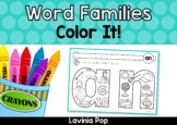 Word Families Color It!