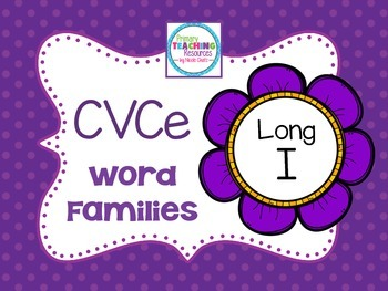 Long I Word Families: CVCe