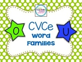 Long O & Long U Word Families: CVCe
