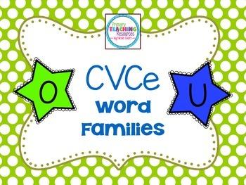 Long O & Long U Word Families: CVCe