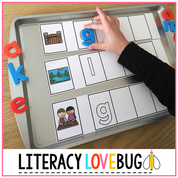 Word Families CVCe Long Vowels Word Build