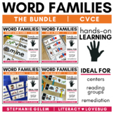 Word Families CVCe Long Vowels Activities BUNDLE