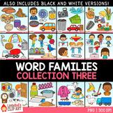 Word Families Clip Art Bundle 3 GROWING BUNDLE
