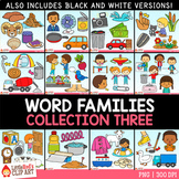Word Families Clip Art Bundle 3