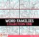 Word Families Clip Art Bundle 1