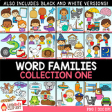 Word Families Clip Art Bundle 1