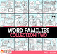 Word Families Clip Art Bundle 2