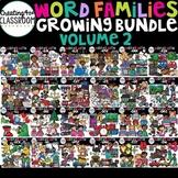 Word Families Clip art Growing Bundle 2 {Word Family Clip Art}