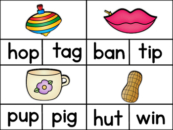 Word Families: Clip it!