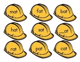 Word Families Construction Hat