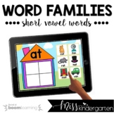 Reading Boom Cards™ for Distance Learning | Word Families