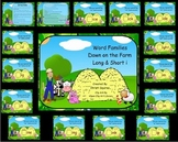 Word Families Down on the Farm Long & Short i  (SMARTBoard Lessons)