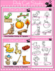 Ending Digraphs Clip Art - Word Families
