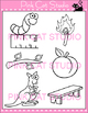 Word Families: Ending -ch Digraphs Clip Art - Personal or Commercial Use