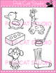 Word Families: Ending -ck Digraphs Clip Art - Personal or