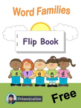 Word Families Flip Book