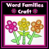 Word Families Flower Craft