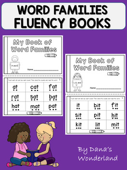 Word Families Fluency Book